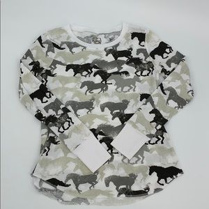 First Love Horse Thermal. Sz. L